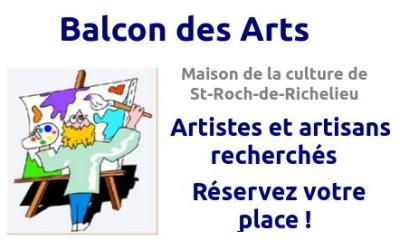 St-Roch-de-Richelieu: le Balcon des Arts