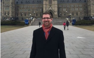 Xavier Barsalou Duval : baptême parlementaire