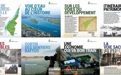 L'exposition itinérante de la MRC de Marguerite-D'Youville fait escale à Verchères