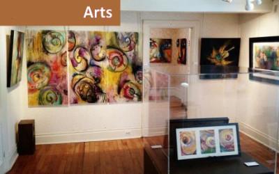 Exposition colorée et spectacle enflammé à la Maison Lenoblet-du-Plessis