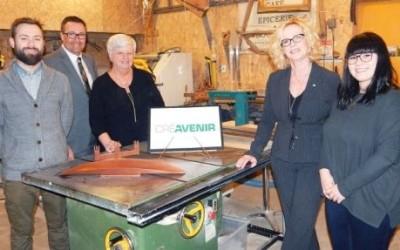 Six entreprises de la MRC de Marguerite-D'Youville se partagent 112500 $ octroyés par CRÉAVENIR Desjardins Rive-Sud