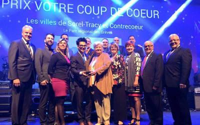 12e édition du mérite Ovation municipale: Contrecoeur honoré !
