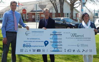 Rues principales Verchères: une campagne de sensibilisation à l'importance de l'achat local !