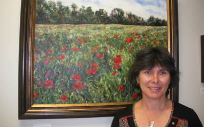 Verchères: Linda Handfield expose à la mairie