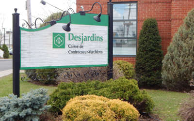 Contrecoeur: le nouveau Centre de services de la Caisse Desjardins de Contrecoeur-Verchères, une première dans la région !