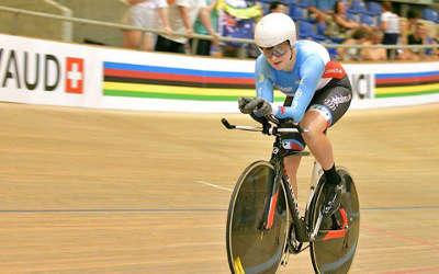 Championnats du monde sur piste junior en Suisse: bon résultat pour Laurie Jussaume !