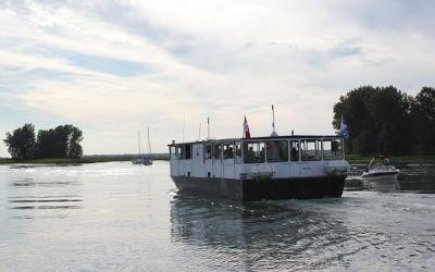 Contrecoeur et Lavaltrie offriront des navettes fluviales
