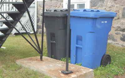 Saint-Roch: début de la collecte des déchets aux deux semaines et collectes de branches et de résidus verts à venir cet automne
