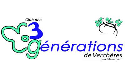 Club des 3 générations de Verchères: Souper de Noël