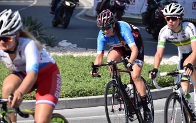 Championnats du monde de cyclisme sur route au Qatar: belle performance de Laurie Jussaume