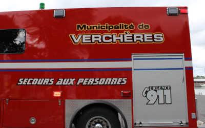 Verchères: les pompiers vont vous dire bonjour !