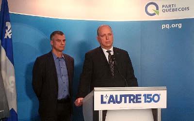 Stéphane Bergeron invite la population à participer à « L'Autre 150e »