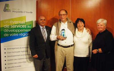 Jacques Boulva, lauréat 2016 du Prix Marc St-Cerny pour l'implication citoyenne