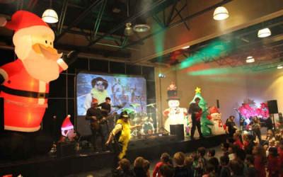 L'événement Le Père Noël Rock: un milieu communautaire mobilisé pour les enfants de Contrecoeur