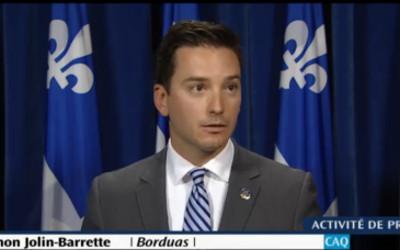 Simon Jolin-Barrette déplore l'inaction libérale dans l'abandon des accusations contre Luigi Coretti