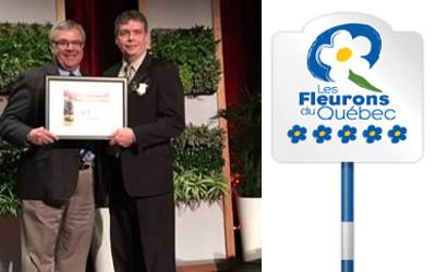 Fleurons du Québec: Contrecoeur conserve ses 4 fleurons !