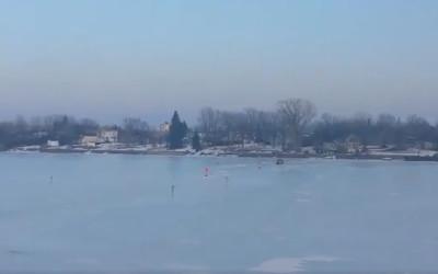 Il n'y aura pas de pont de glace entre Saint-Antoine et Saint-Denis!