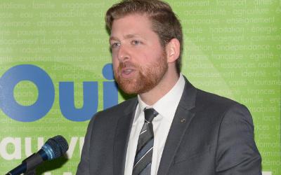 Xavier Barsalou-Duval nommé chef parlementaire à Ottawa