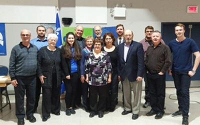 Assemblée générale du Parti Québécois de Verchères: un nouvel exécutif alliant expérience et renouveau