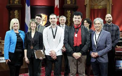 25e anniversaire du Tournoi jeunes démocrates: le Collège Saint-Paul et deux de ses enseignants honorés