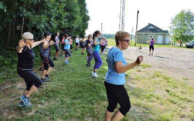Le projet Aînés actifs, de l'activité physique offerte gratuitement dans les parcs de la région !