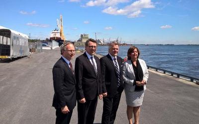 40 M$ pour accroître la productivité et la compétitivité de l'administration portuaire de Montréal