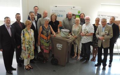 M.R.C. de La Vallée-du-Richelieu: livraison des organibacs dès septembre 2017