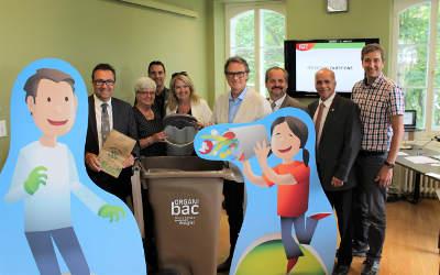 MRC de Marguerite-D'Youville: la livraison du bac brun débutera en novembre 2017