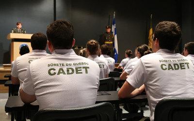 Bilan de la saison 2017 des cadets de la Sûreté du Québec