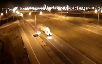 Collision mortelle et délit de fuite: une vidéo de l'incident