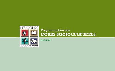 Contrecoeur: programmation des cours socioculturels
