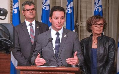 Présentation du budget: « Une manœuvre électoraliste », croit Simon Jolin-Barrette