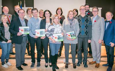 Le conseil municipal décerne les Mérites Varennes en fleurs 2017
