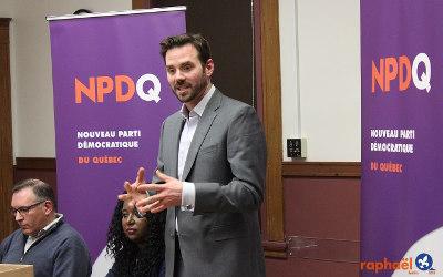 Bâtir le Québec de demain: Raphaël Fortin lance officiellement sa campagne à la direction du NPD Québec