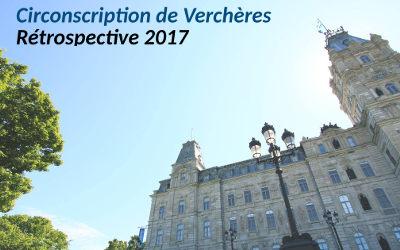 Rétrospective 2017: Circonscription de Verchères