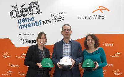 ArcelorMittal Produits longs Canada s'engage jusqu'en 2020 comme partenaire majeur du Défi génie inventif ÉTS