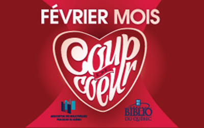Bibliothèque de Verchères: Concours «Février mois Coup de cœur»