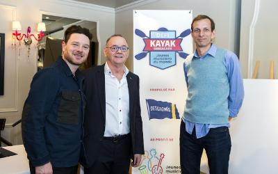 Les participants du Défi kayak Desgagnés 2018 et Yann Perreau feront escale à Verchères le 9 août