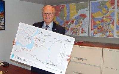 Le Grand Déblocage: Jean-François Lisée de passage en Montérégie