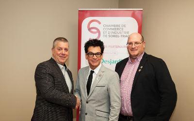 La Chambre de Commerce accueille la Ville de Sorel-Tracy à titre de membre et de partenaire argent