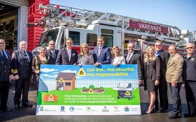Campagne de prévention incendie: Cet été… ma sécurité, ma responsabilité