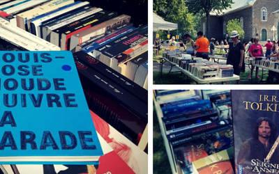 Vente de livres usagés au profit du Centre 4 Poches