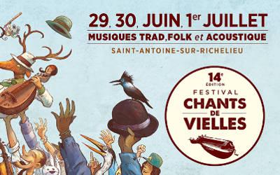 Festival Chants de Vielles: Village des artisans, des nouveautés à découvrir cette année!