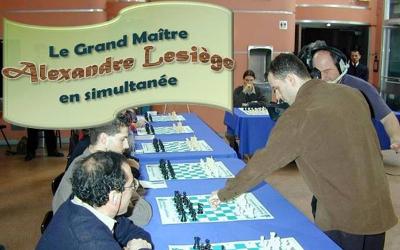 Dans le cadre des festivités du 350e de Contrecoeur: le Grand Maître international d'échecs Alexandre Le Siège affrontera 25 joueurs