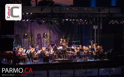 Les Rendez-Vous du parc Cartier-Richard: L'Harmonie Calixa-Lavallée en spectacle à Contrecœur