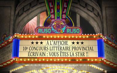 Invitation au 10e Salon du Regroupement Littéraire Jeunesse de Saint-Ours: Écrivains, vous êtes la star !