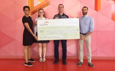 Un futur prometteur en génie grâce à un don de 42000 $ d'ArcelorMittal à la Fondation de Polytechnique