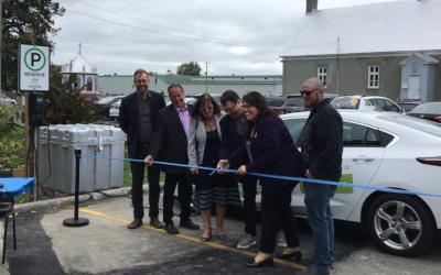 Autonomik! lance le premier véhicule d'autopartage en milieu rural du Québec!