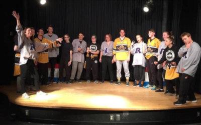Début victorieux de l'équipe d'impro du Cégep de Sorel-Tracy!!
