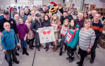 Guignolée: merci aux Varennois pour leur générosité